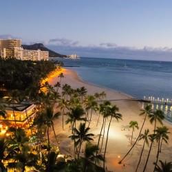 Waikiki from the Hilton